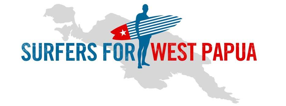 Surfers for West Papua Banner