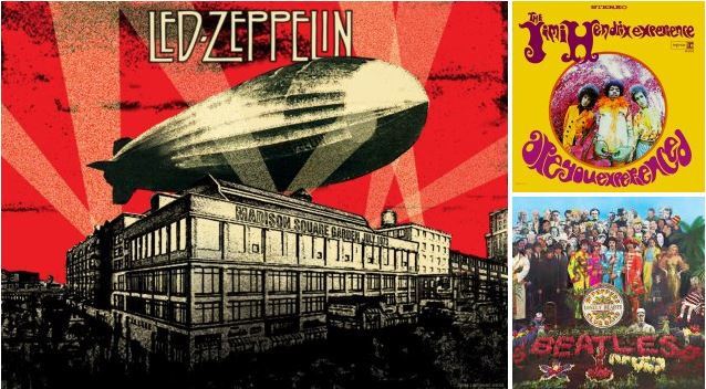 : : TOP 10 MOST INFLUENTIAL ALBUMS IN ROCK HISTORY : :