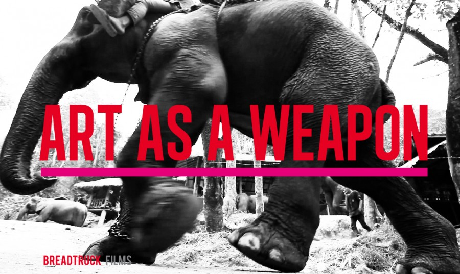 : : ART AS A WEAPON : :