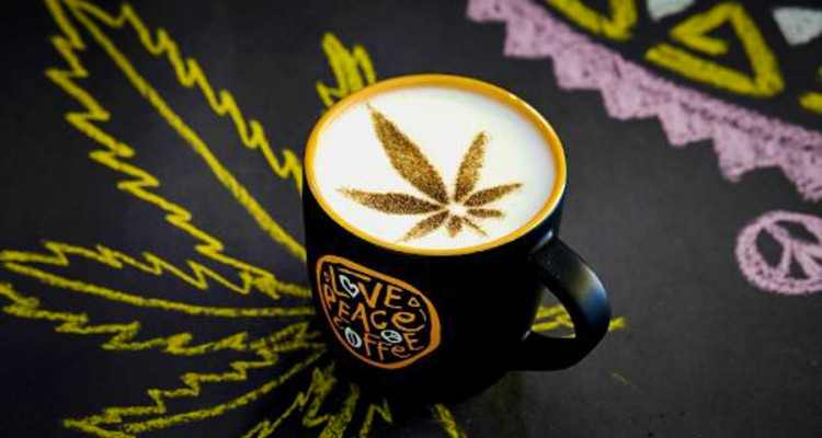": : CANNABIS COFFEE : START YOUR DAY ON A ""HIGH NOTE"" : :"