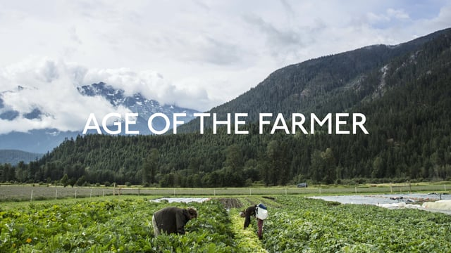 AGE OF THE FARMER: THOUGHTS & FEELINGS OF YOUNG FARMERS