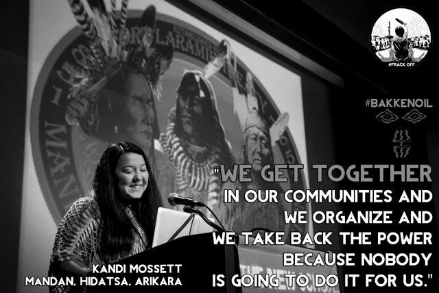 "INDIGENOUS UPRISING: ""FRACKING"" IS KILLING OUR FUTURE!!! :  EAGLE WOMAN"
