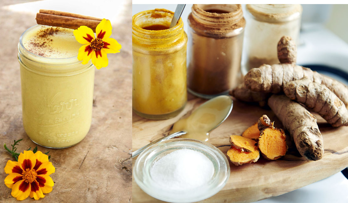 "GOLDEN MILK:  THE ""SPICE OF LIFE"" TONIC TO BOOST YOUR IMMUNITY & REDUCE INFLAMMATION – RECIPE"
